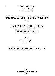 Dictionnaire Etymologique Grec-Fransaca