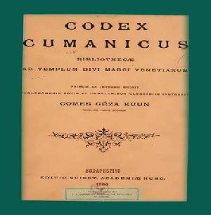 Codex Cumanicus-omes Ceza Kuun-Budapestini-1880