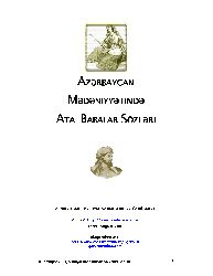 Azerbaycan Medeniyetinde Ata Babalar Sözleri-Şehriyar Rehnemayan-Vehid Gerusli-Baki-2002-192s