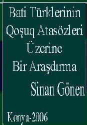 Bati Türklerinin Qoşuq (Menzum) Atasözleri Üzerine Bir Araşdırma