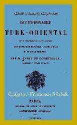 Elluğtul Nevaiyye Vel Istişhadatul Ciğataiyye-Çağatay Fransaca Sözlük-(Abuşga)