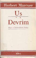 Us Ve Devrim-Herbert Marcuse-Eziz Yardımlı-1989-375s