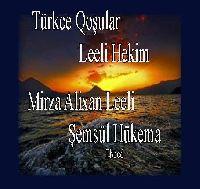 لعلي حکيم- تورکجه قوشولار  LEELI HEKIM - TÜRKCE QOŞULAR - Mirza Alixan Leeli-Şemsül Hükema