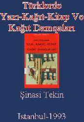 Türklerde Yazı-Kağıt-Kitap Ve Kağıt Damqaları