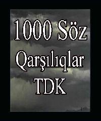 1000söz Türkcedeki Yabancı Kökenli Sözcüklerin Türkce qarşılıqları